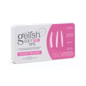 Gelish Soft Gel Tips Round S