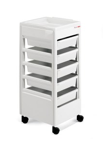 Rem Studio Trolley White Flat