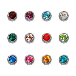 Caflon Assorted Birthstone S