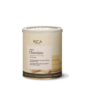 Rica White Choc Wax 800ml Dis
