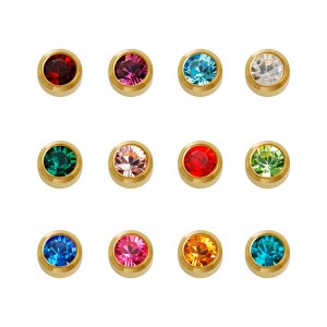 Caflon Assorted Birthstone G