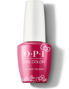 OPI Gel Colour AllAboutBows Lt