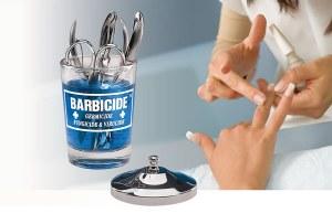 Renscene Barbicide Man Tab Jar