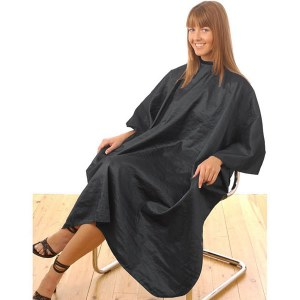 HT Unisex Tinting Gown Black