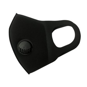 MC Reusable Face Mask Black V