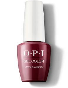 OPI Gel Colour Bogata BlackB