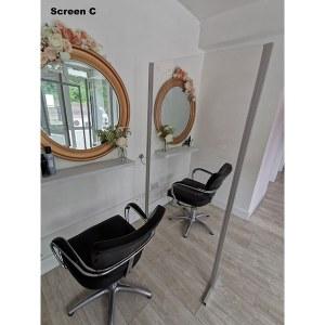DG Hairdresser Safety Screen C