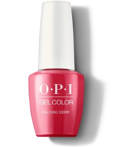 OPI Gel Colour ChaChing Cherry