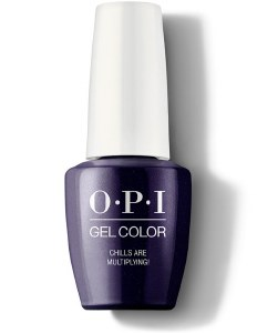 OPI Gel Colour Chills Are Ltd