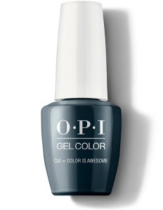 OPI Gel Colour CIA = Color is