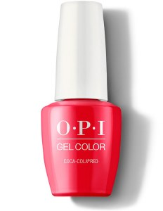 OPI Gel Colour Coca-Cola Red