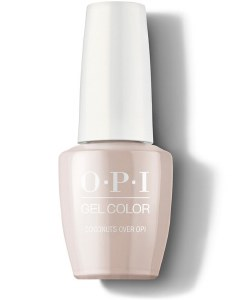 OPI Gel Colour Coconuts over