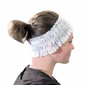 EG Disp Headband White 100pk