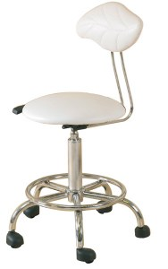 Hof Leaf Therapist Stool White