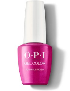 OPI Gel Colour Flashbulb Fusch