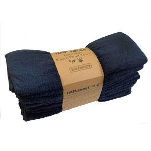HT Bleach Proof Towel Blk 12p