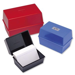 File-One Index Box Small
