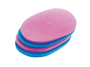 SP Mousseline Sponges 4pk