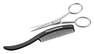 TMan Moustache Scissors & Comb