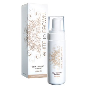White to Brn Tan Mousse 150ml
