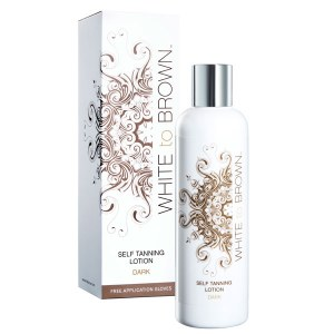 White to Brn Self-Tan Dk 250ml