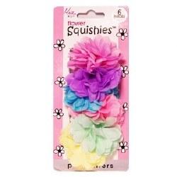Mia Girl Flower Squishies 6pc
