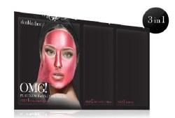 OMG! Platinum Pink Facial Mask