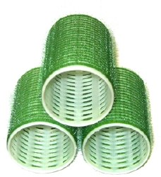 Velcro Rollers Green 18mm (D)