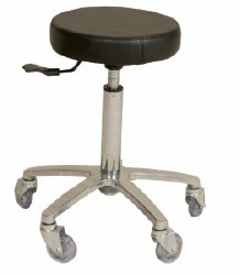 Turbo Stool - Chrome Base (P)
