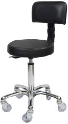 Sprint Stool - Chrome Base (P)