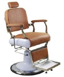 Dallas Barber Chair Brown (P)