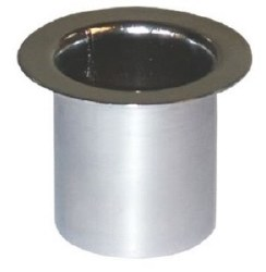 In Bench Chrome Dryer Holder(P
