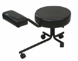 Pedicure Stool - Black (P)