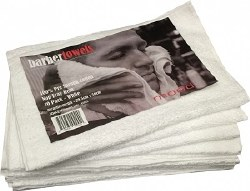 In Mood Barber Towels White 10