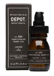 Depot 505 Beard Oil Leather 30