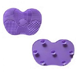 CB Brush Cleaning Mat Purple