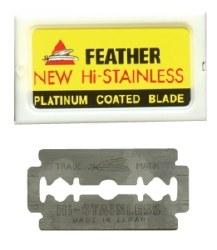 Feather Platinum Raz Blades 5