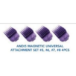 Andis Magnet Univer Attach 4pc