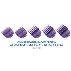 Andis Magnet Univer Attach 5pc