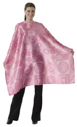 Andre Hairstyling Cape Pink (D