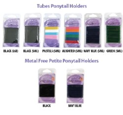 Gliders Tubes Small Black 24pk