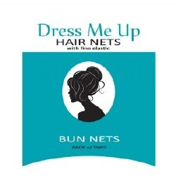 D Me Up Bun Nets Med Brn (D)