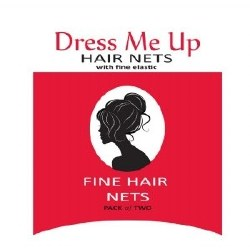 D Me Up Hair Net Lt Brown