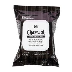 DB Charcoal Wipes 30 Pack