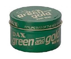 DAX Wax Green & Gold (D)