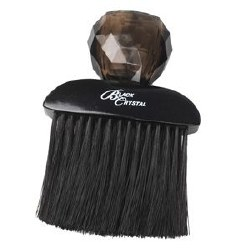 Black Crystal Neck Brush