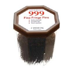 """999 Fine Fringe Pins 2"""" Bron(D"""