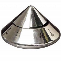 Date Pyramid Timer Silver (D)