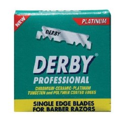 Derby Pro Single Edge Razor Bl