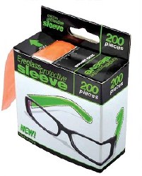 Glide Eyeglass Sleeves 200pk